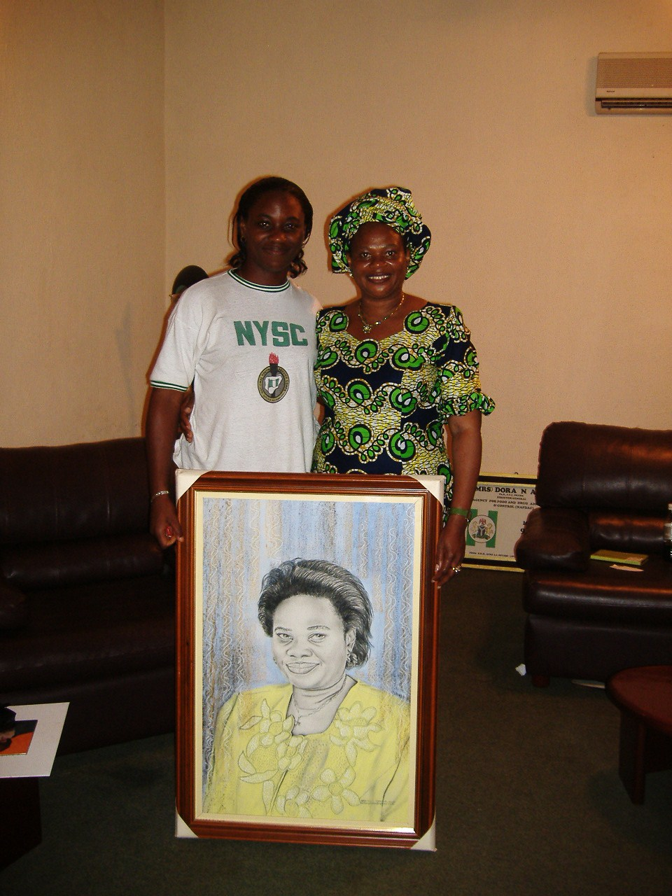 Nkolika with Late Prof Dora Akunyili