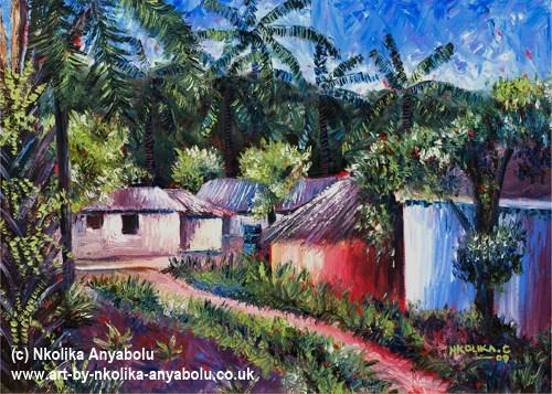 Art Print by Nkolika Anyabolu