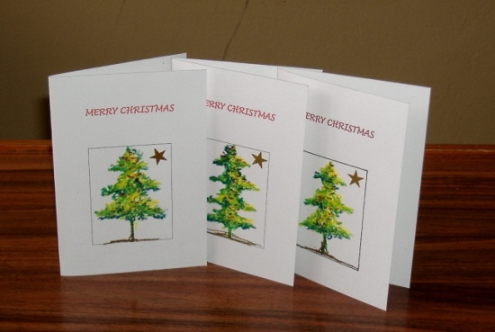 Christmas Cards by Nkolika Anyabolu