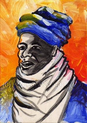 Painting by Nkolika Anyabolu