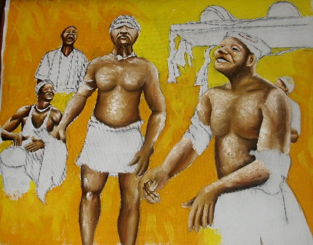 African Dancers by Nkolika Anyabolu