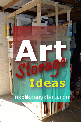 Art Storage Ideas by Nkolika Anyabolu