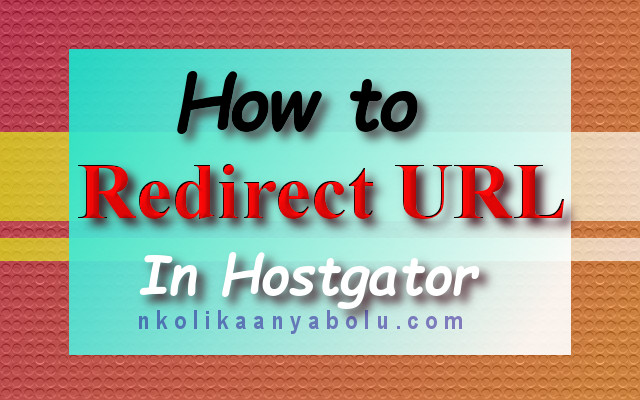 How To Redirect A URL