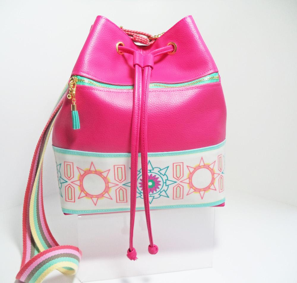 Pink Handmade Bag by Linda Williams.jpg