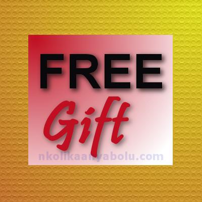 Free Gift by Nkolika Anyabolu