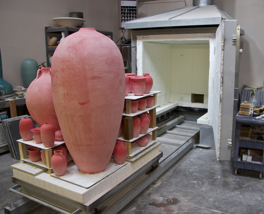 Loading Glaze Ware in Car Kiln.jpg