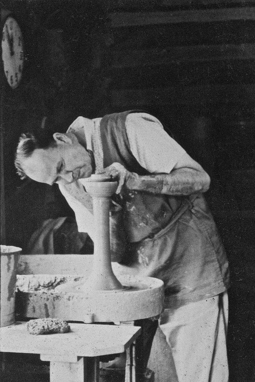 Ben Owen Sr. Making a Candlestick.jpg