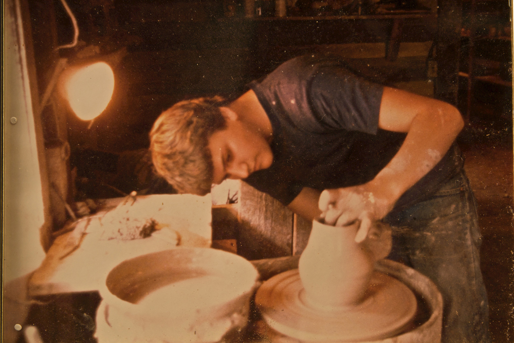 Young Ben Owen III at the Potters Wheel.jpg