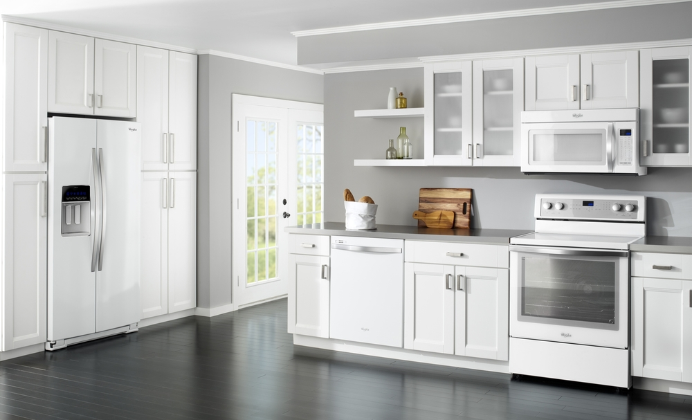 Kitchen Design White Cabinets Stainless Appliances 0zddnvcf