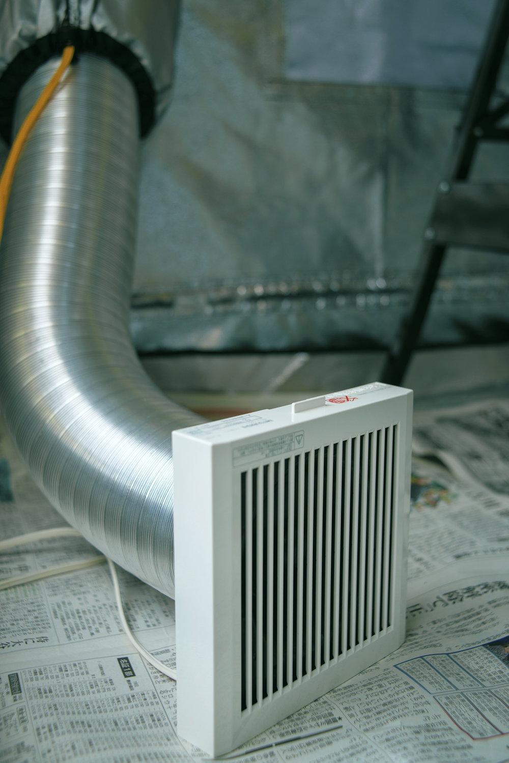 Electric ventilator  電動換気装置  전동 환기 장치