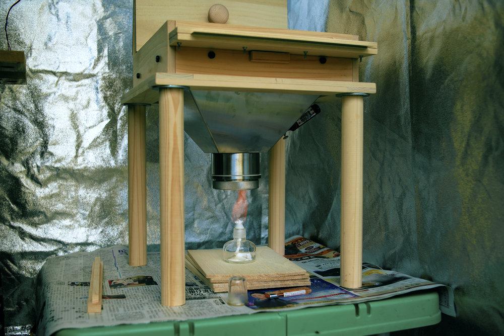 Mercury developing pot.  水銀現像機  수은 현상기