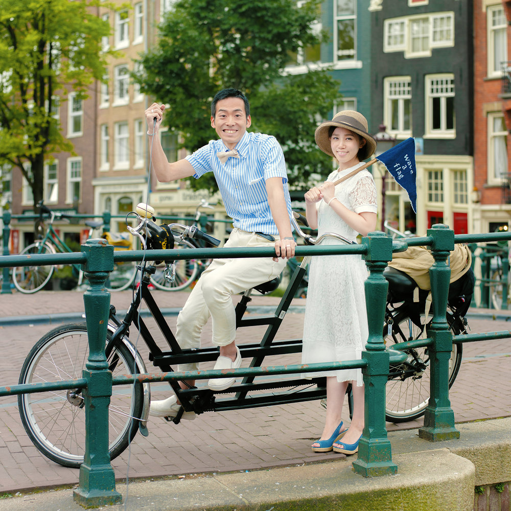 Amsterdam, Netherlands  /  암스테르담, 네덜란드  / アムステルダム, オランダ