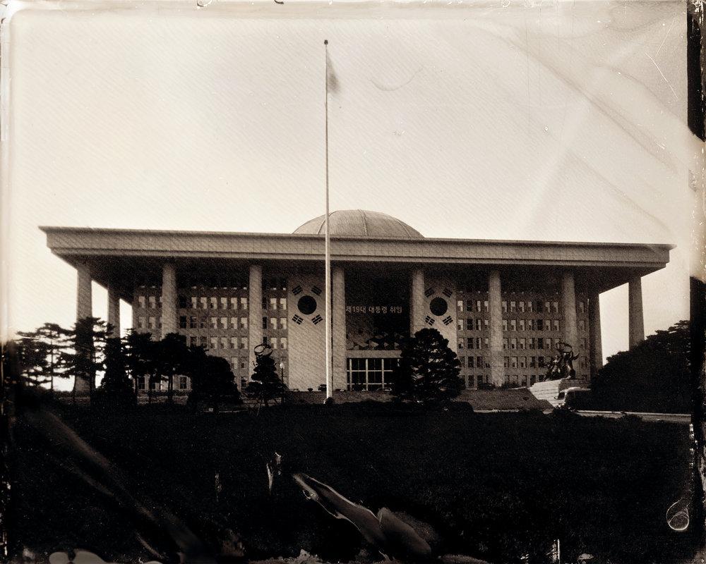 韓国-ソウル-国会議事堂-2017年大韓民国大統領選挙翌日  대한민국-서울-국회의사당-대한민국 제19대 대통령 선거 다음일  South Korea-Seoul-National Assembly Building-The day after the 19th South Korean presidential election