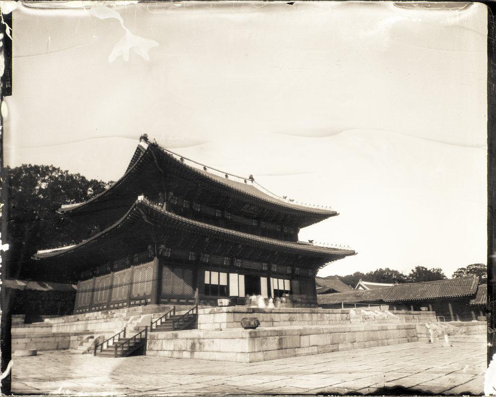 韓国-ソウル-昌徳宮-仁政殿  대한민국-서울-창덕궁-인전전  South Korea-Seoul-Changdeok PalaceInjeongjeon(Throne hall)