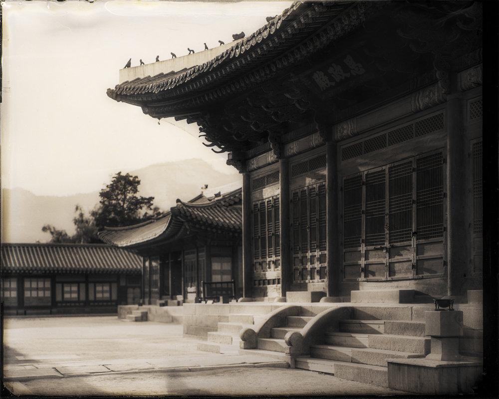 韓国-ソウル-景福宮-思政殿  대한민국-서울-경복궁-사정전  South Korea-Seoul-Gyeongbok Palace-Sajeongjeon