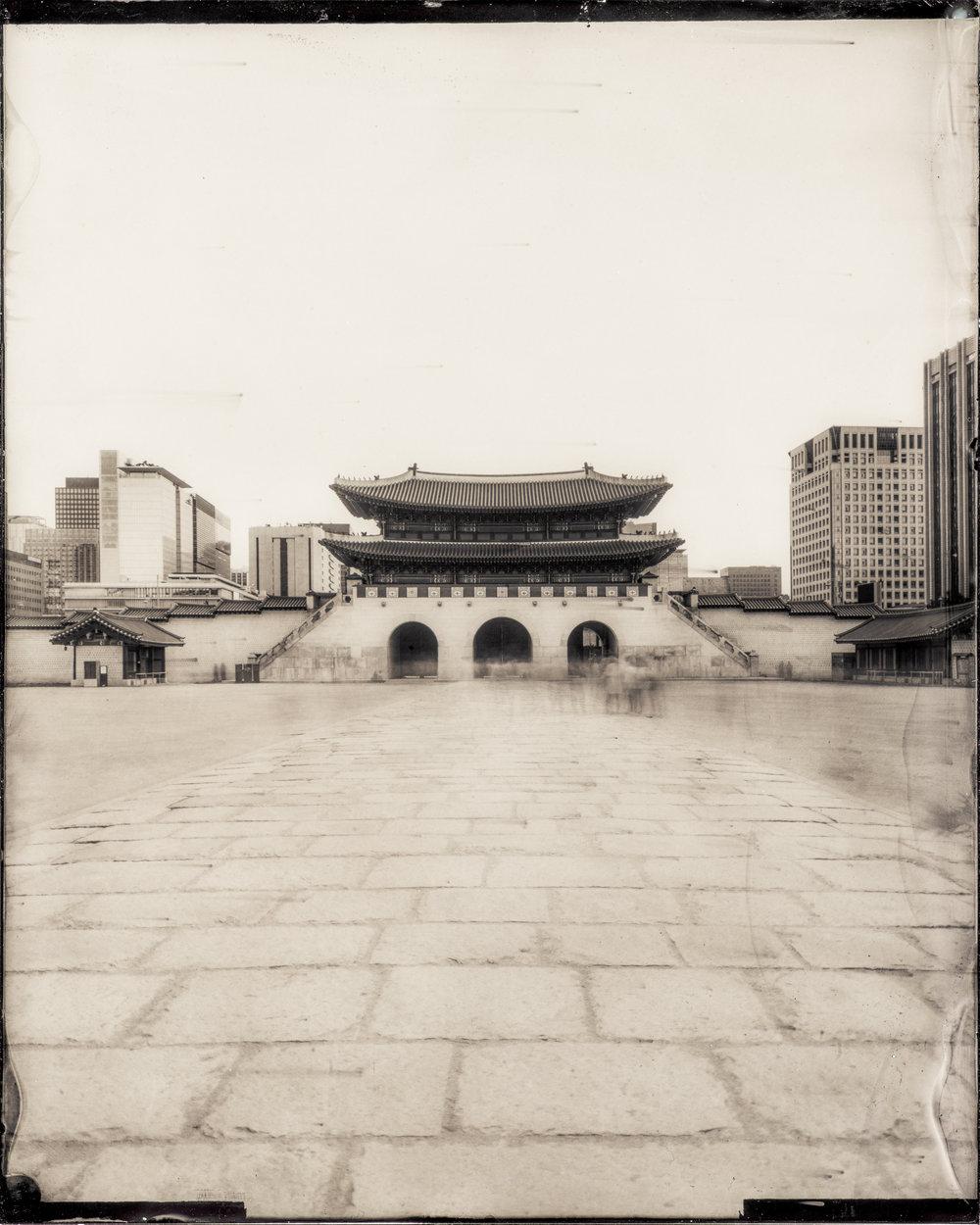 韓国-ソウル-景福宮-光化門  대한민국-서울-경복궁-광화문  South Korea-Seoul-Gyeongbok Palace-Gwanghwamun (The Main and South Gate)
