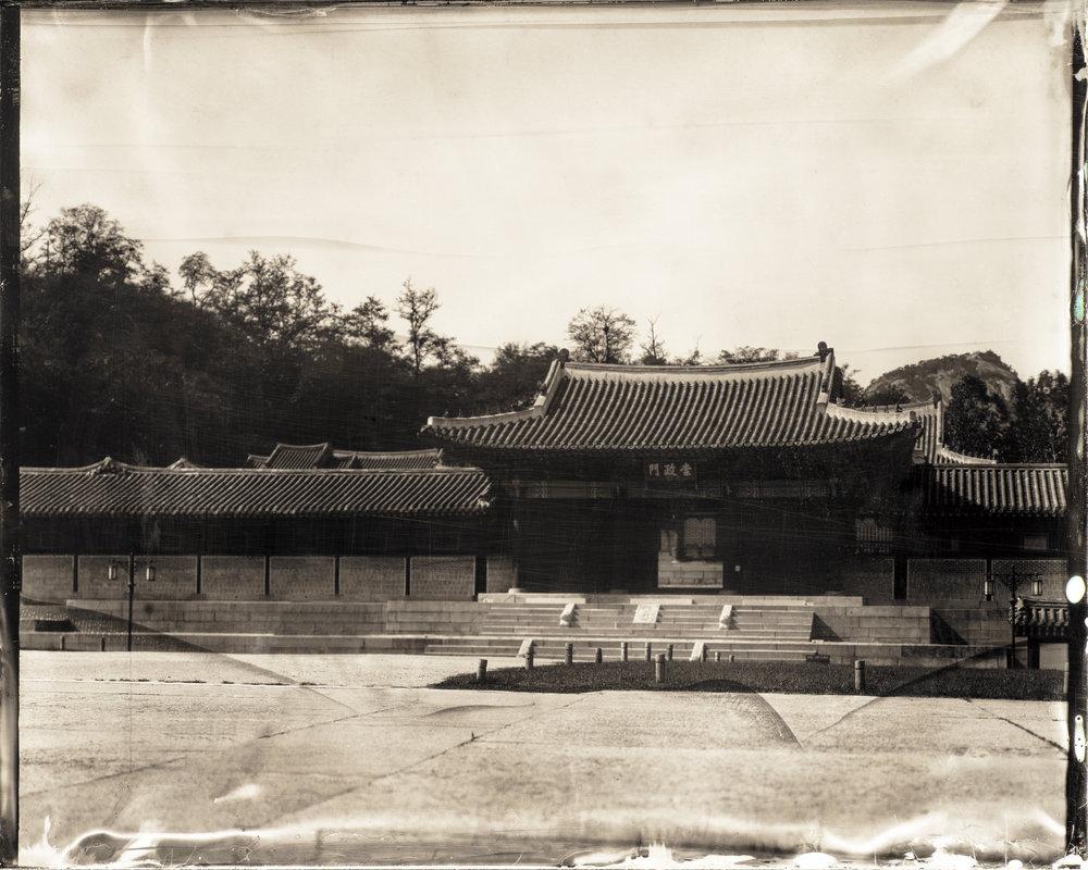 韓国-ソウル-慶熙宮-崇政殿  대한민국-서울-경희궁-숭정전  South Korea-Seoul-Sungjeong Hall