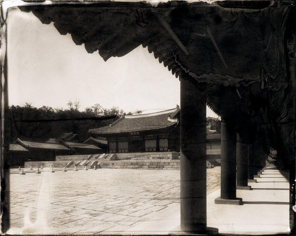 韓国-ソウル-慶熙宮-崇政門  대한민국-서울-경희궁-숭정문  South Korea-Seoul-Sungjeong Gate