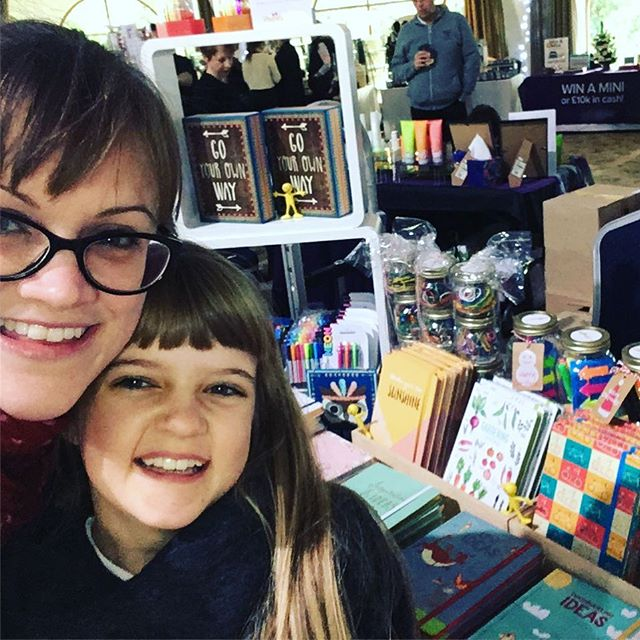 Stationery selfie from the Copthorne Effingham Park gift fair...
