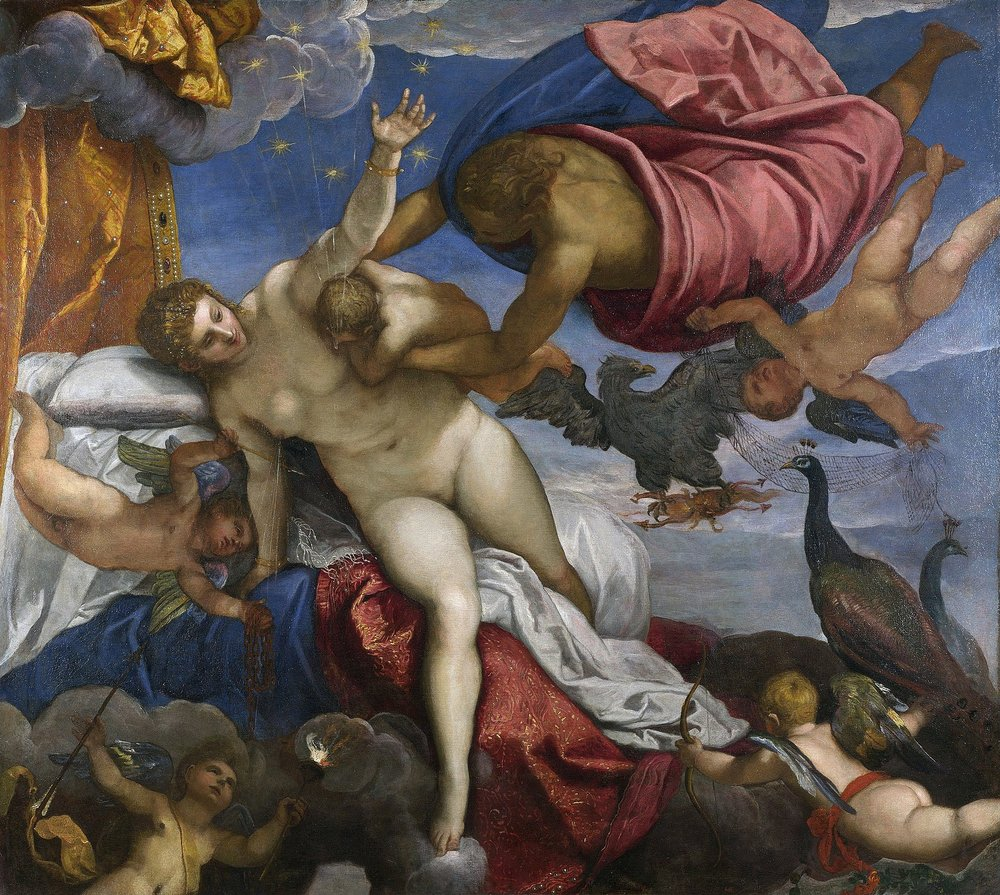 Original painting by Jacopo Tintoretto around 1575. Image retrieved from  Wikipedia