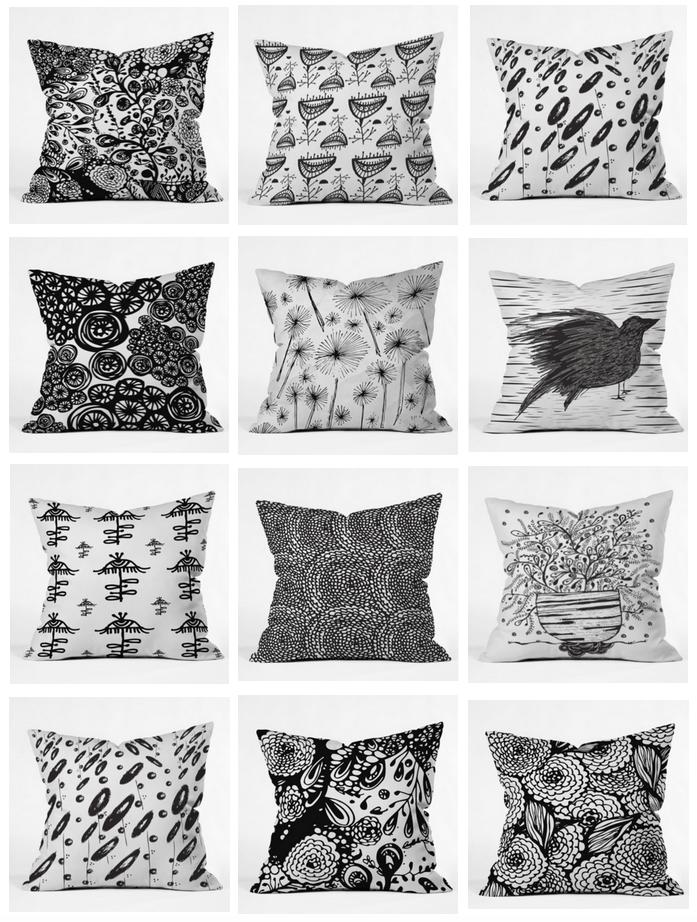 Poz-Art Pillows