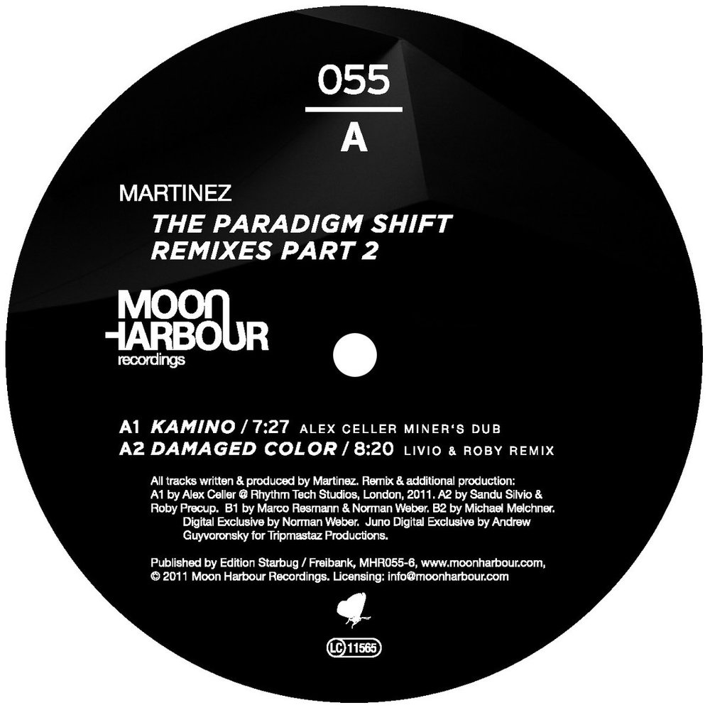 "Mainly influenced by Chicago House, ""The Paradigm Shift"" also covers Techno, Breakbeat and dubby Downtempo sounds."