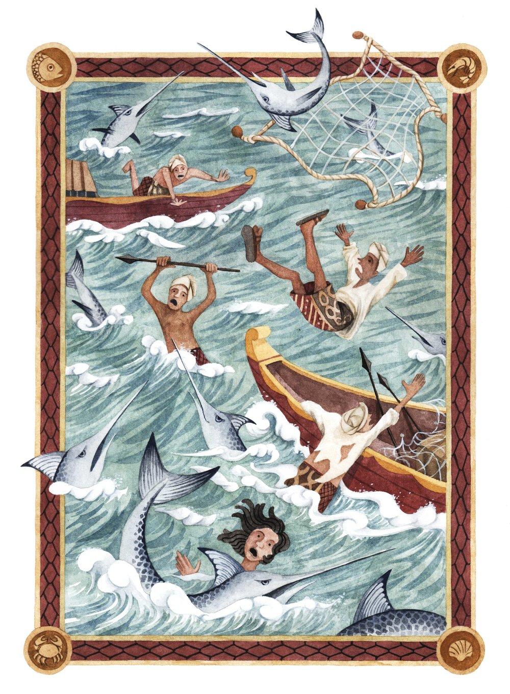 Singapore folktales: Attack of swordfish