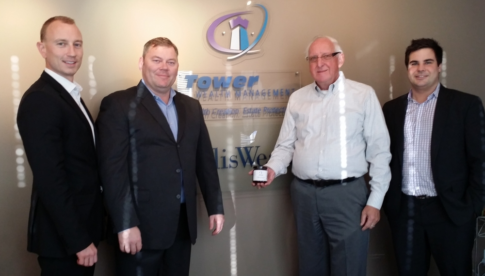 Presentation to our major Kickstarter donor - Tower Wealth Management - Edmonton.