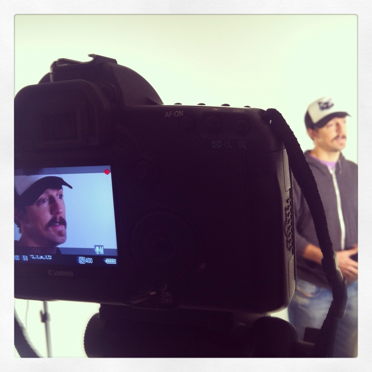 Blend Studios spending time with Jason Mraz in Los Angeles, CA for an Anti-Bully PSA.