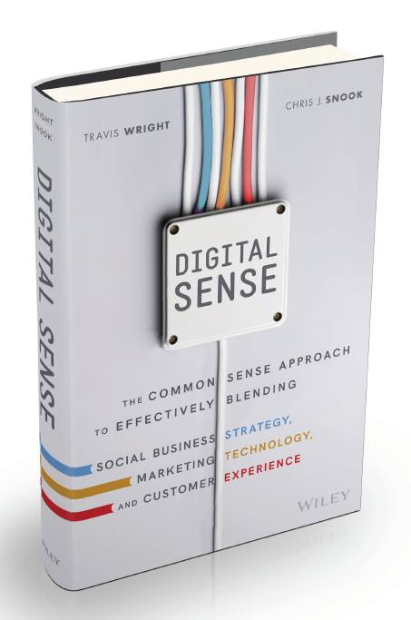 Digital Sense Book Cover-Travis Wright and Chris J Snook (Wiley 2016)