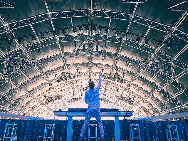 It was always my dream to play Coachella. Today was unbelievable... can't believe I get to do it again next week!