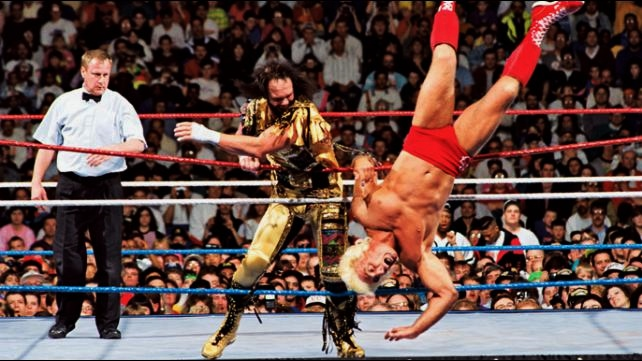 Image result for Savage was defeated by Ricky Steamboat