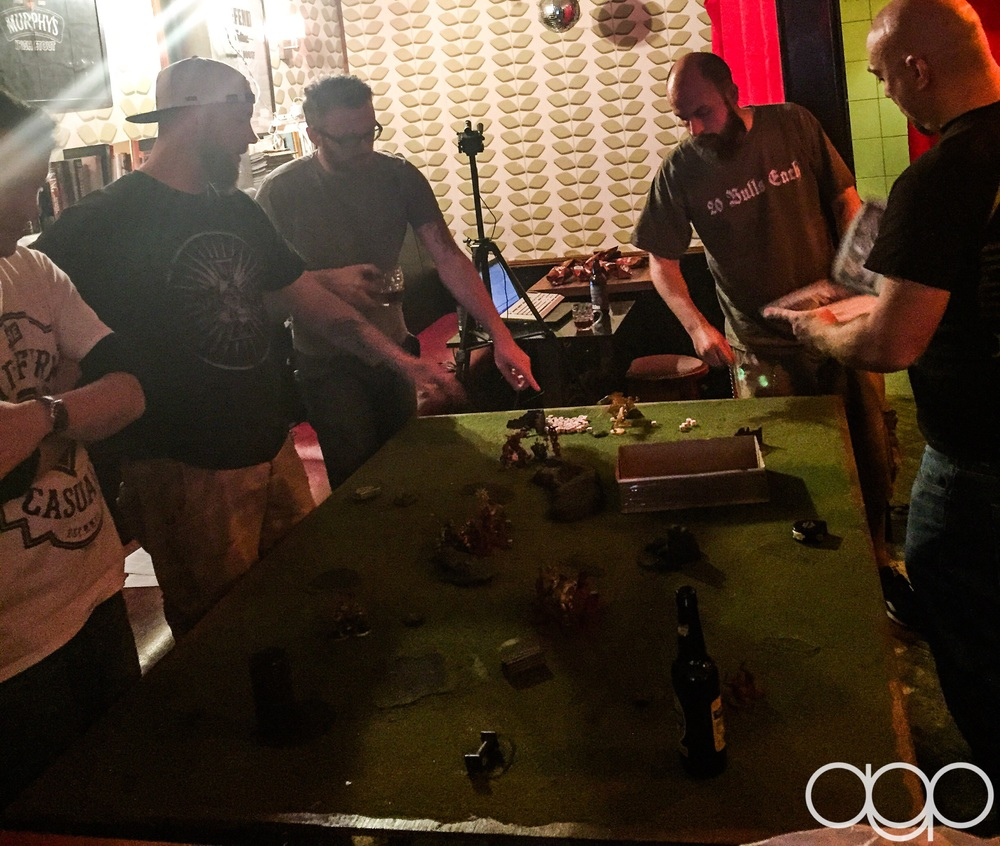 Warhammer and more every Wed night in the Thomas House