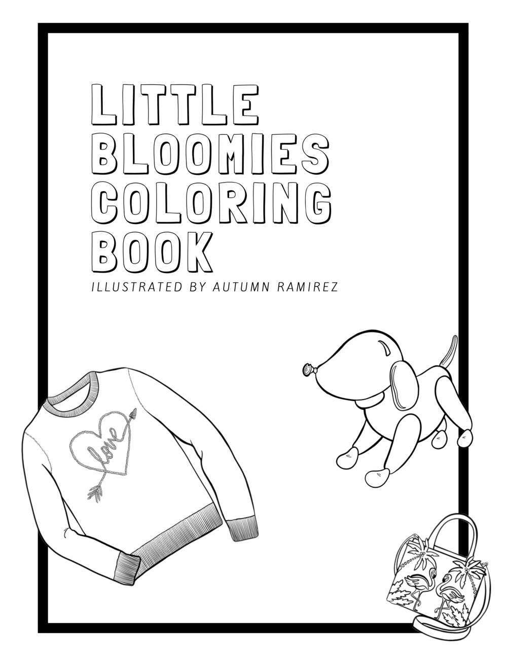 Little Bloomies Coloring Book   This coloring booklet was developed for employees at Bloomingdale's for a Mental Health Awareness Day.