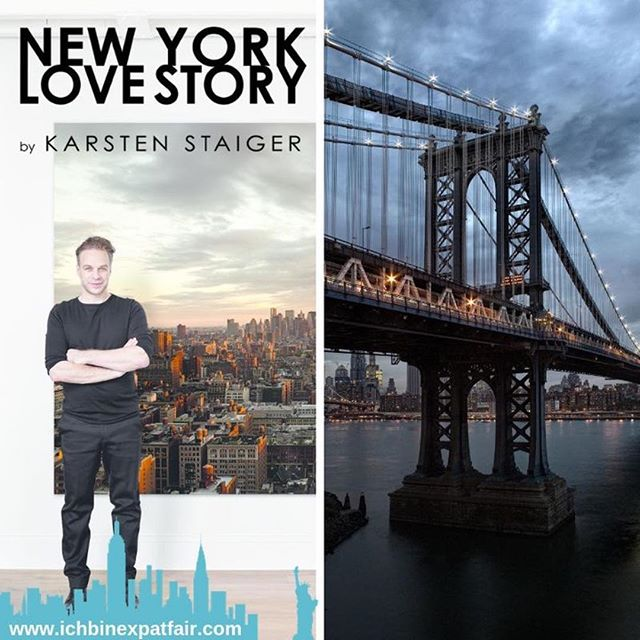 Where I'll be this Saturday Nov 3. I'll be giving away this print 😉 @ichbinexpatfair_nyc  #karstenstaigerphotography