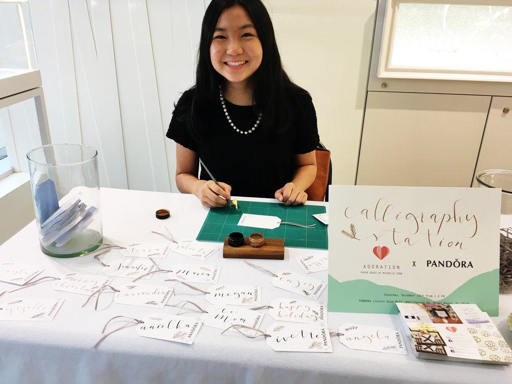 PANDORA Calligraphy Station