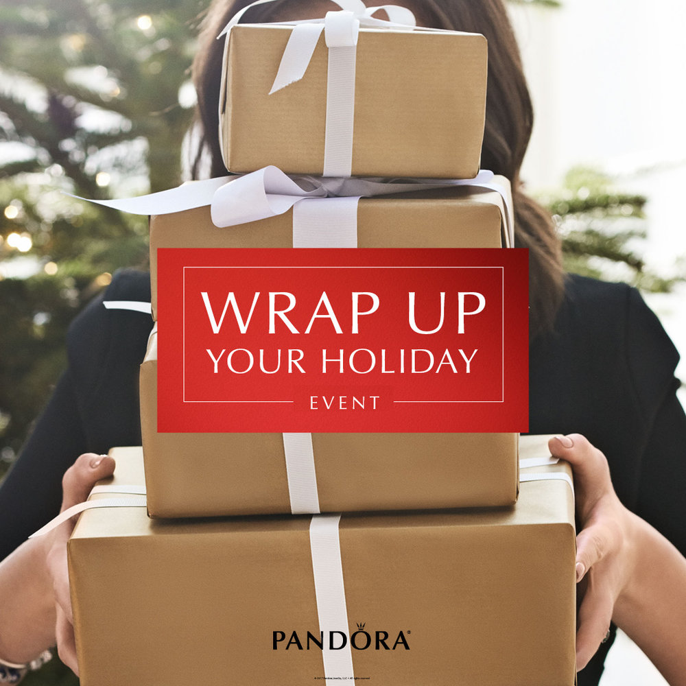 PANDORA Wrap Up Your Holiday Event December 09 2017