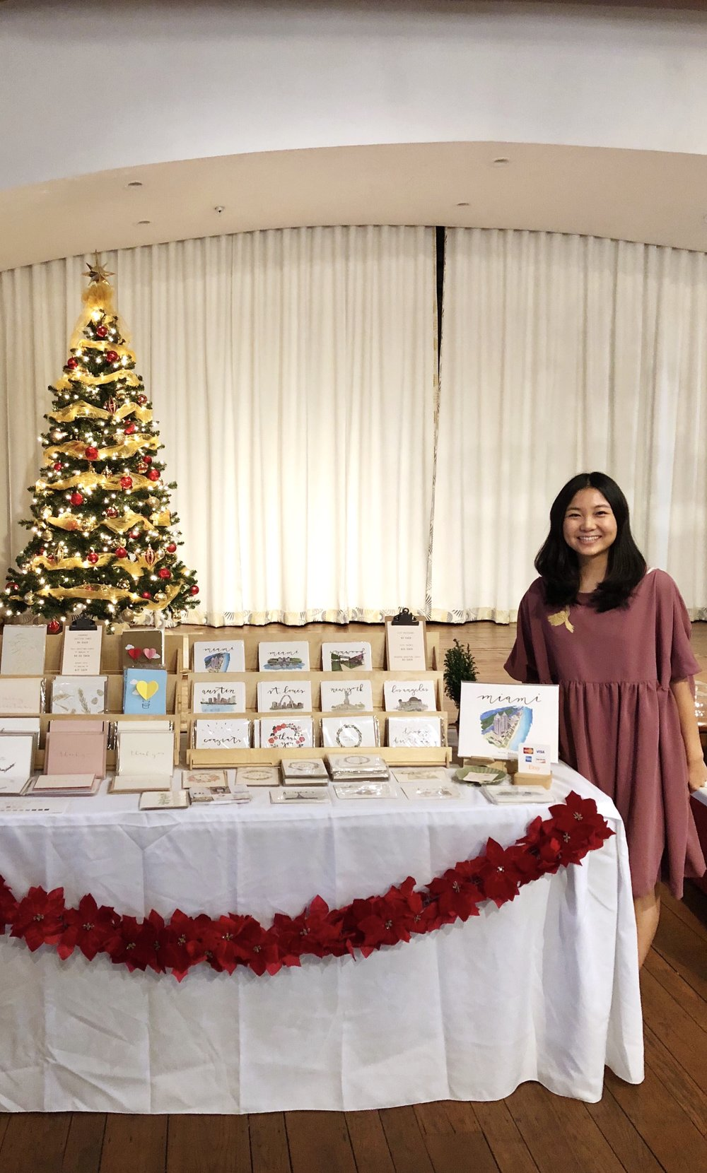 Miami Beach Woman's Club (Holiday Open House and Gift Bazaar)  December 03 2017