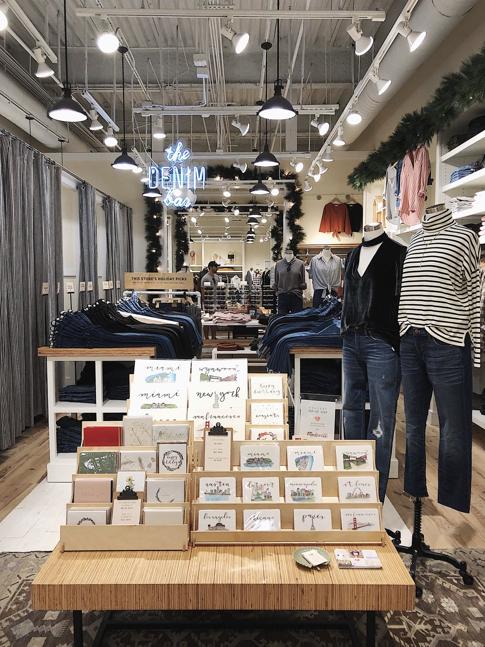 Madewell Holiday Pop-Up -  December 2017