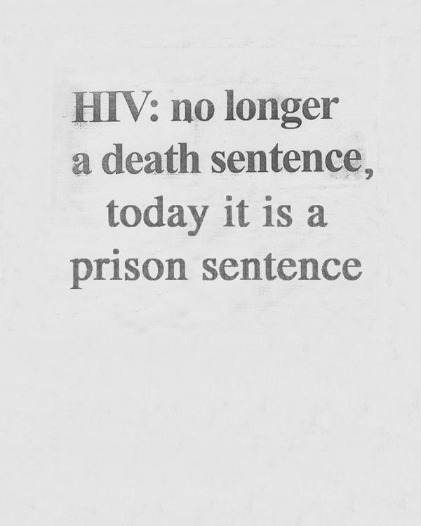Camilo Godoy, Study (HIV Criminalization), 2013