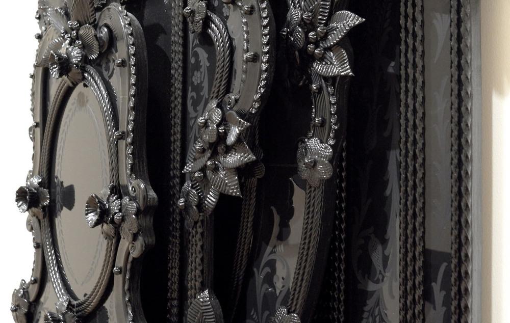 Fred Wilson, detail Iago's Mirror, 2009