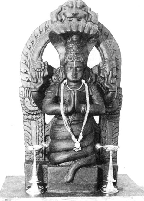 Statue of patanjali