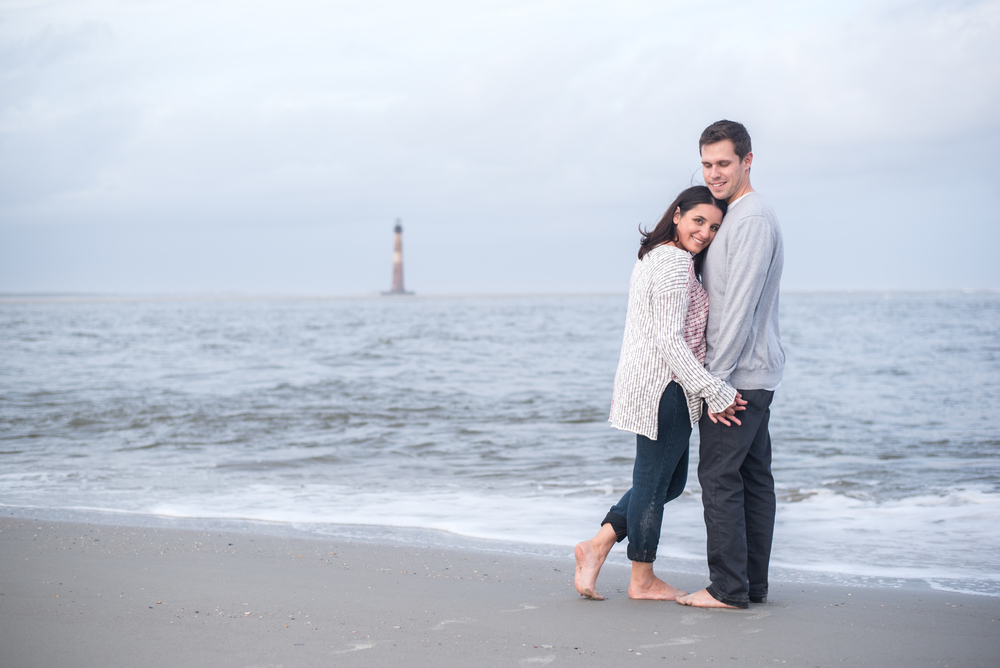 Wedding Engagement Folly Beach