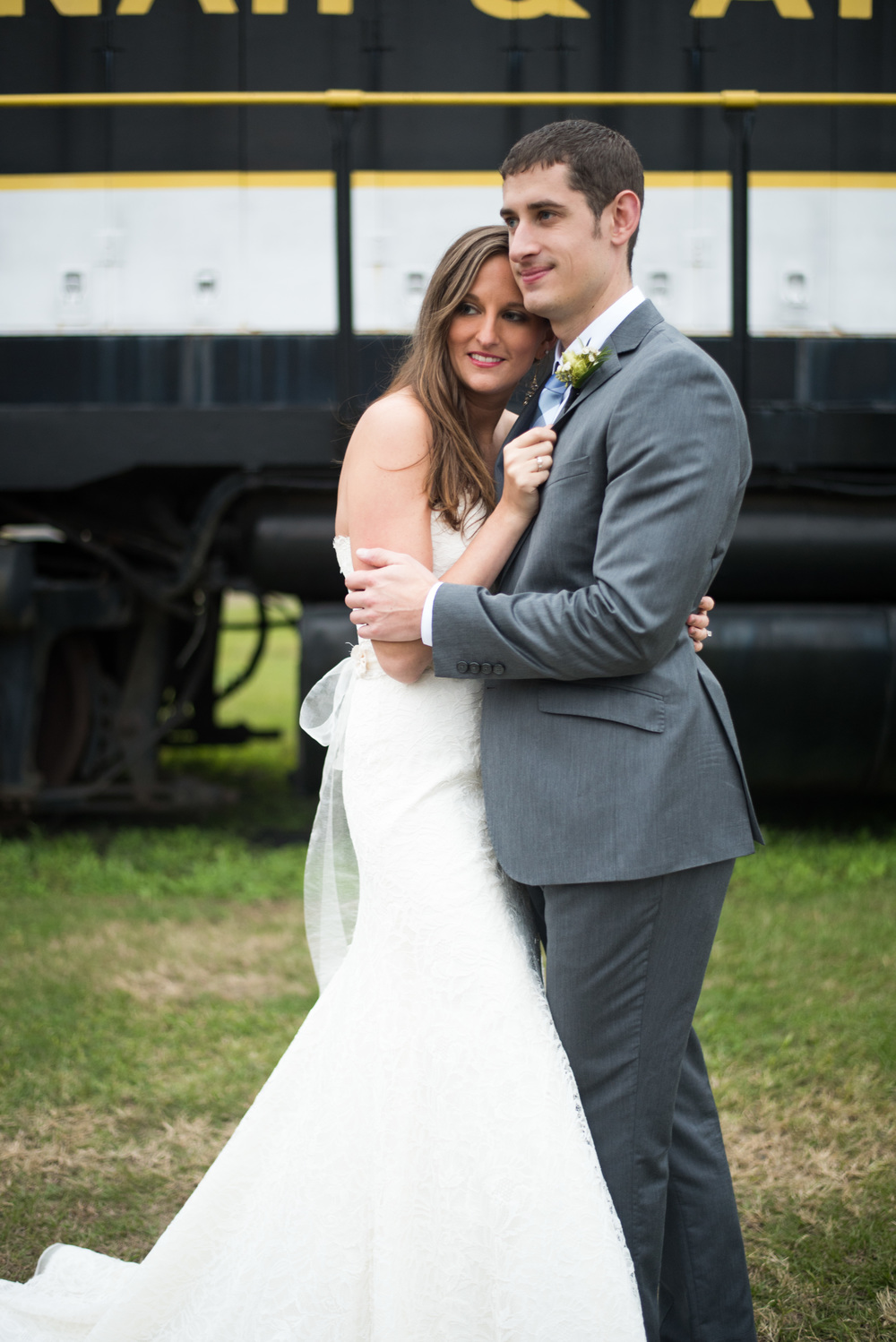 Georgia Railroad Museum Wedding