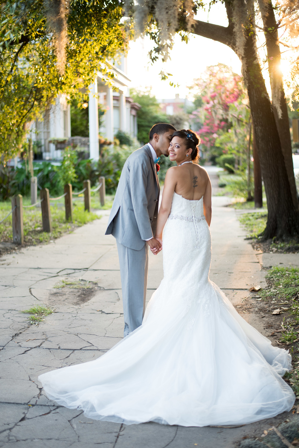 Savannah Historic District - Forsyth Park Wedding