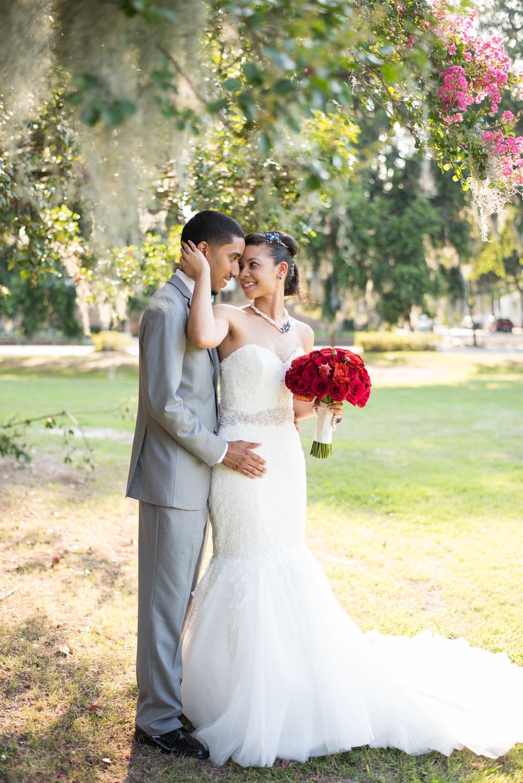 Savannah Historic District - Forsyth Park Wedding