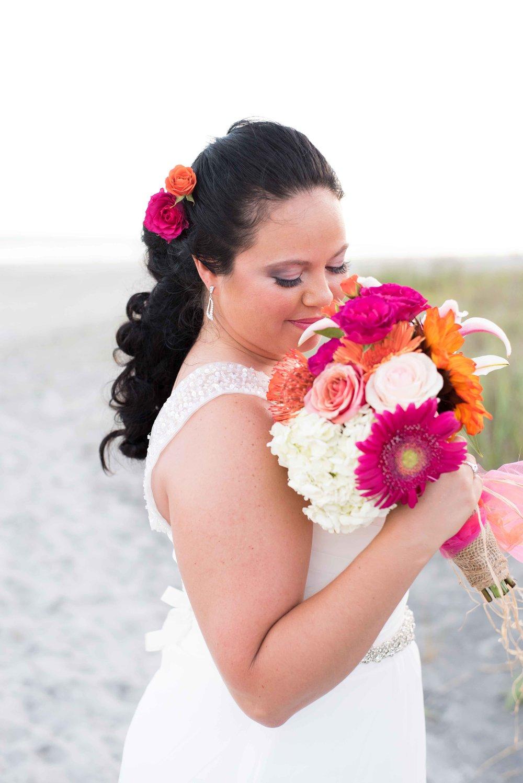 Wedding on Folly Beach in Charleston, SC