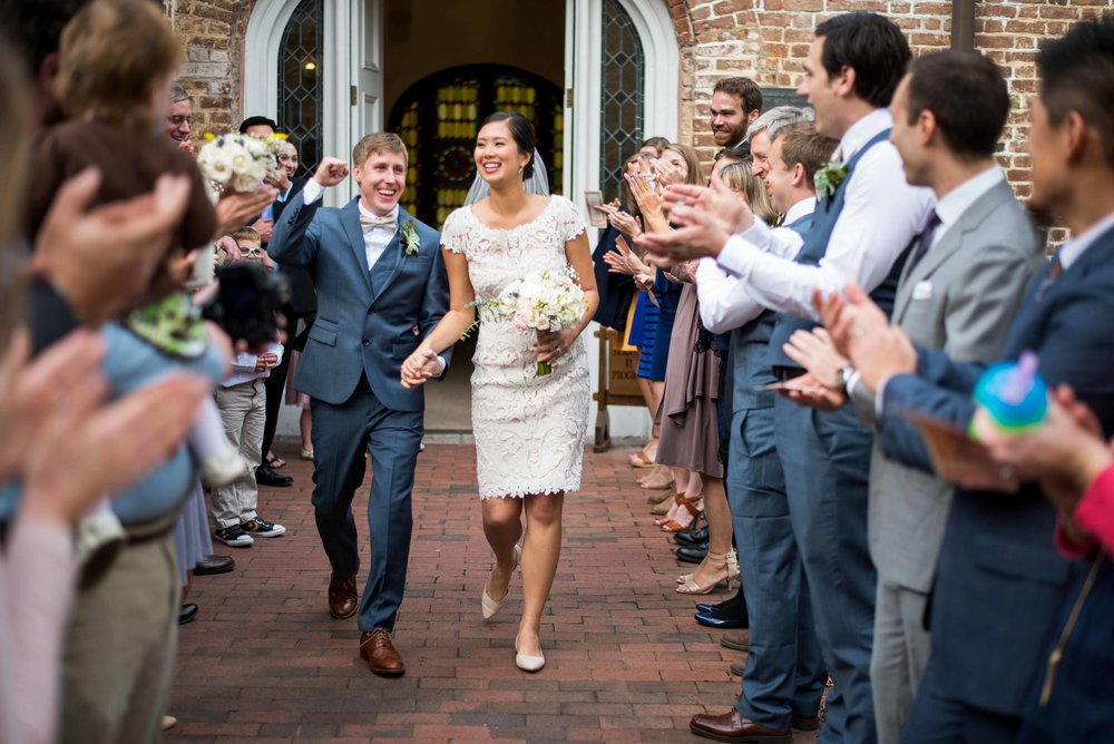 Lindsey Leigh Weddings at St Luke's Chapel and Room on Meeting in Charleston, South Carolina for Cordy and Jon's fall wedding