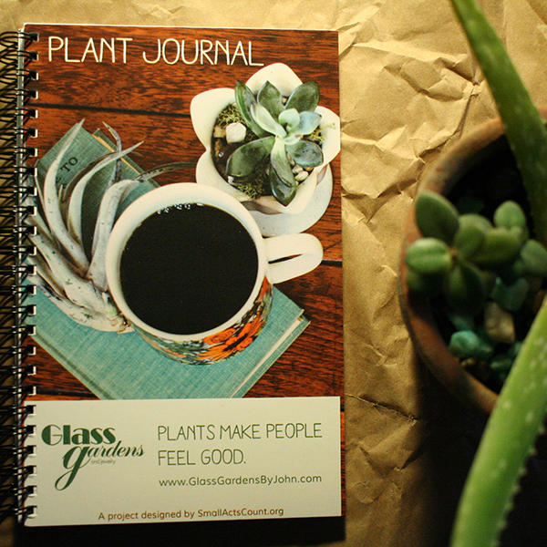 Glass Gardens Plant Journal