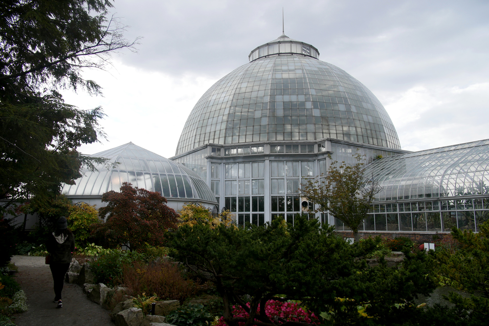 Belle Isle Conservatory Entrance